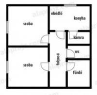 Kisalag 25MFt - 81 m2eladó családi ház ingatlanFót