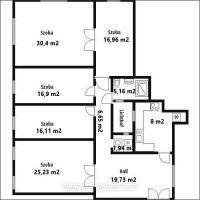 Báthory utca 162.5MFt - 138 m2eladó Polgári lakás ingatlanBudapest 5. kerület