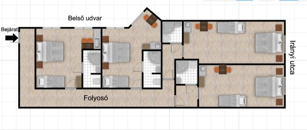 Irányi utca 125MFt - 86 m2eladó Polgári lakás ingatlanBudapest 5. kerület