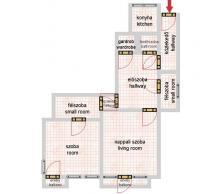 Rákóczi út 74.9MFt - 96 m2eladó Polgári lakás ingatlanBudapest 7. kerület