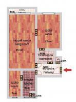 Ráday utca 59MFt - 77 m2eladó Bauhaus lakás ingatlanBudapest 9. kerület