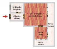 Hajós utca 63.6MFt - 42 m2eladó Új építésű lakás Budapest 6. kerület