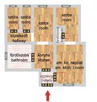 Aradi utca 76.9MFt - 80 m2eladó Polgári lakás Budapest 6. kerület