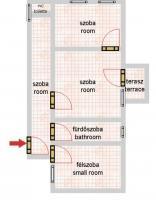 Rippl Rónai utca 68.6MFt - 64 m2eladó Polgári lakás Budapest 6. kerület