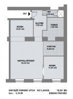Vigyázó Ferenc 135MFt - 78 m2eladó Polgári lakás Budapest 5. kerület