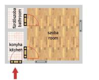 Dessewffy utca 29.9MFt - 30 m2eladó Polgári lakás Budapest 6. kerület