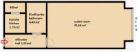 Radnóti Miklós utca 33,900,000 Ft - 33 m2Eladó lakás Budapest