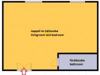 Wesselényi utca 120EFt - 25 m2kiadó lakás Budapest 7. kerület