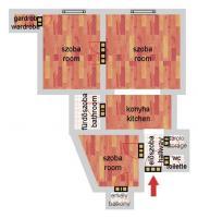 Tátra utca 69.89MFt - 75 m2eladó Polgári lakás Budapest 13. kerület