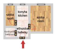 Pannónia utca 29.9MFt - 35 m2eladó Panel lakás Budapest 13. kerület