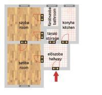 Akadémia utca 59.9MFt - 53 m2eladó Polgári lakás Budapest 5. kerület
