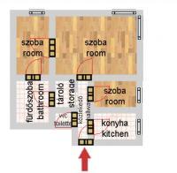 Semmelweis utca 57.9MFt - 52 m2eladó Modern lakás Budapest 5. kerület