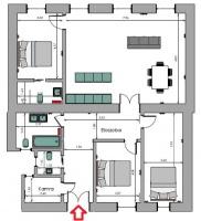 Szent István körút 179.9MFt - 120 m2eladó lakás Budapest 5. kerület