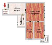 Jókai utca 59.9MFt - 70 m2eladó Polgári lakás Budapest 6. kerület