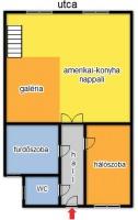 Eötvös utca 262.5EFt - 50 m2kiadó lakás Budapest 6. kerület