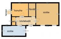 Nagy Diófa utca 50.5MFt - 58 m2eladó Polgári lakás Budapest 7. kerület